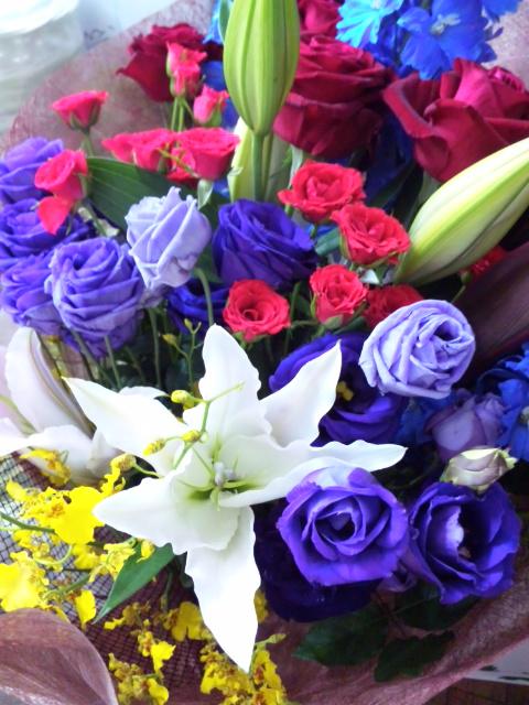 豪華な花束☆