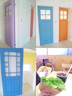 マカロン色の扉☆