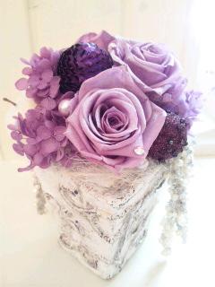 冬のギフトにお花を添えて☆