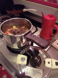 高圧力鍋☆